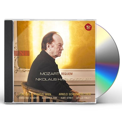 Nikolaus Harnoncourt MOZART: REQUIEM CD