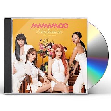 MAMAMOO DECALCOMANIE (VERSION A) CD