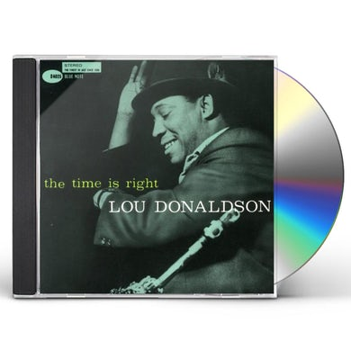Lou Donaldson TIME IS RIGHT CD