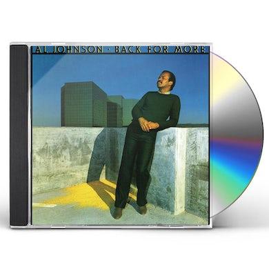 Al Johnson BACK FOR MORE CD