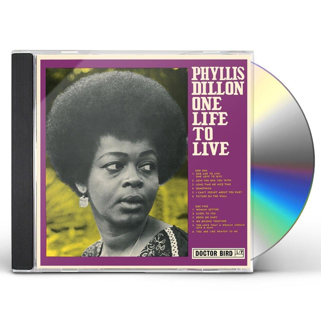 Phyllis Dillon ONE LIFE TO LIVE CD