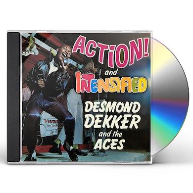 Desmond Dekker ACTION / INTENSIFIED CD