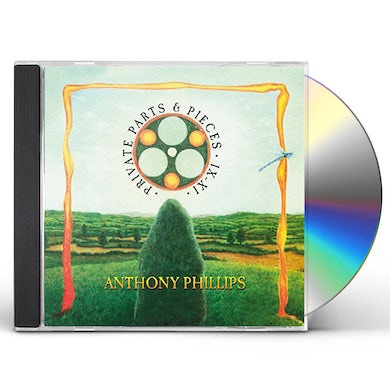 Anthony Phillips PRIVATE PARTS & PIECES IX-XI CD