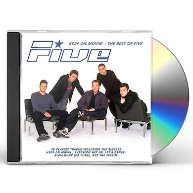 Five KEEP ON MOVIN: BEST OF CD