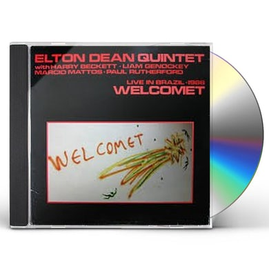 Elton Dean WELCOMET: LIVE IN BRAZIL 1986 CD