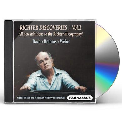 Sviatoslav Richter RICHTER DISCOVERIES! VOL. 1 CD