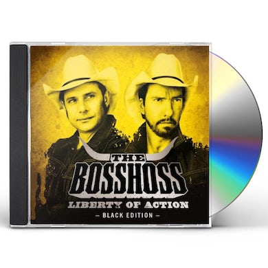 Bosshoss LIBERTY OF ACTION (SPECIAL BLACK EDITION) CD