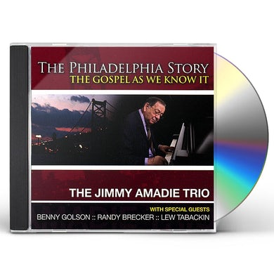 Jimmy Amadie PHILADELPHIA STORY CD