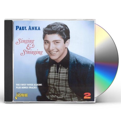 Paul Anka SINGING & SWINGING / 1ST CD