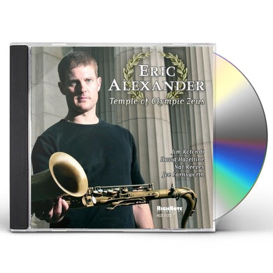 Eric Alexander TEMPLE OF OLYMPIC ZEUS CD
