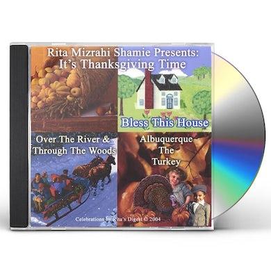 Rita Mizrahi Shamie GRANDMA RITA PRESENTS IT'S THANKSGIVING TIME . CD