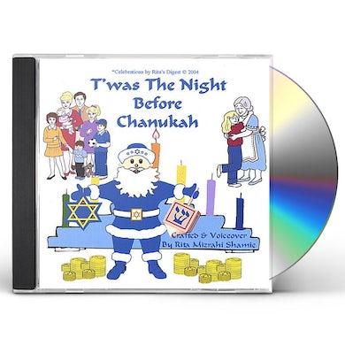 Rita Mizrahi Shamie GRANDMA RITA PRESENTS T'WAS THE NIGHT BEFORE CHANU CD