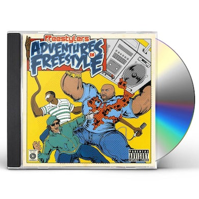 Freestylers ADVENTURES IN FREESTYLE CD