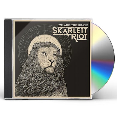 Skarlett Riot WE ARE THE BRAVE CD