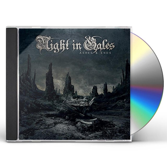 Night In Gales ASHES & ENDS CD
