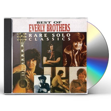 The Everly Brothers RARE SOLO CLASSICS CD