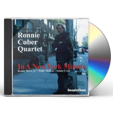 Ronnie Cuber IN A NEW YORK MINUTE CD