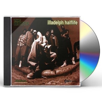 The Roots ILLADELPH HALFLIFE CD