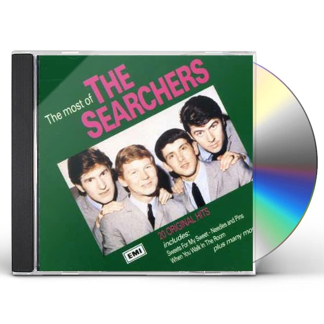 MOST OF THE SEARCHERS CD