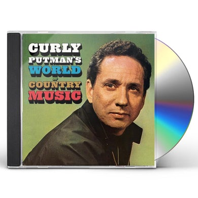 Curly Putman WORLD OF COUNTRY MUSIC / LONESOME COUNTRY CD