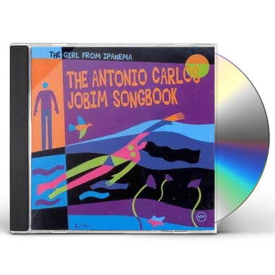 Antonio Carlos Jobim GIRL FROM IPANEMA: JOBIM SONGBOOK CD