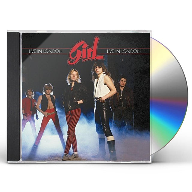 girl LIVE IN LONDON-FEBRUARY 26 1980 CD