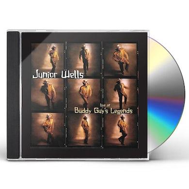 Junior Wells LIVE AT BUDDYGUY'S LEGENDS CD