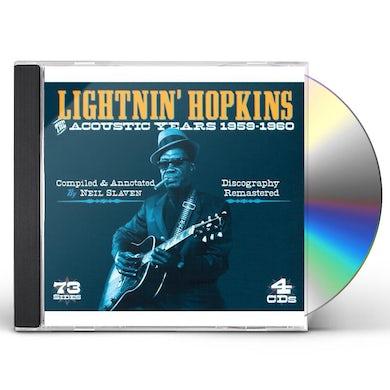 Lightnin Hopkins ACOUSTIC YEARS CD