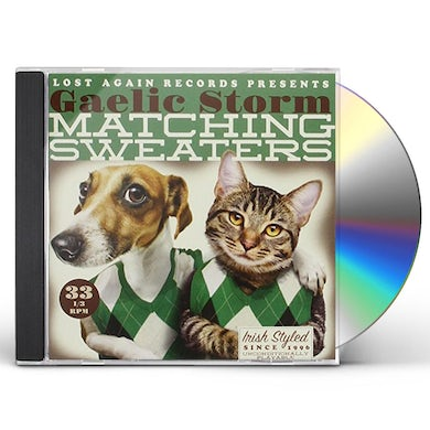 Gaelic Storm MATCHING SWEATERS CD