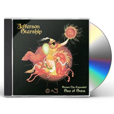 Jefferson Starship ACROSS THE EXPANDED / SEA OF SUNS CD