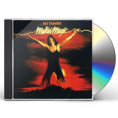 Pat Travers MAKIN MAGIC CD