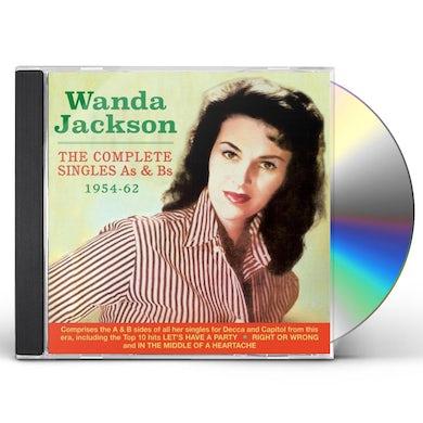 Wanda Jackson COMPLETE SINGLES AS & BS 1954-62 CD