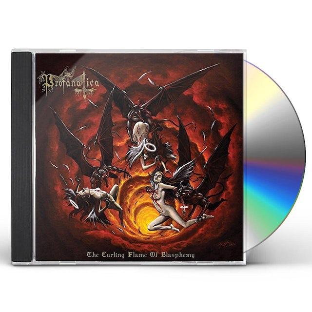 Profanatica CURLING FLAME OF BLASPHEMY CD