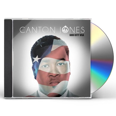 Canton Jones GOD CITY USA CD