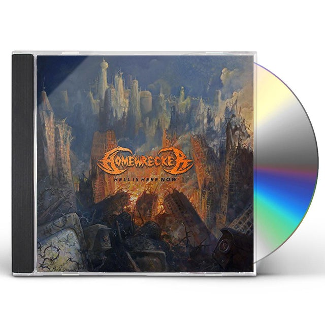 Homewrecker HELL IS HERE NOW CD
