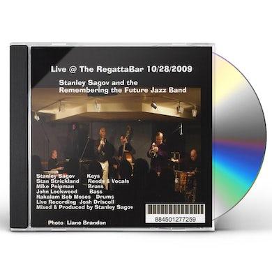 Stanley Sagov LIVE AT THE REGATTABAR 10/28/2009 CD