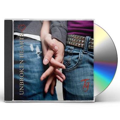 Tg UNBROKEN HEARTS CD