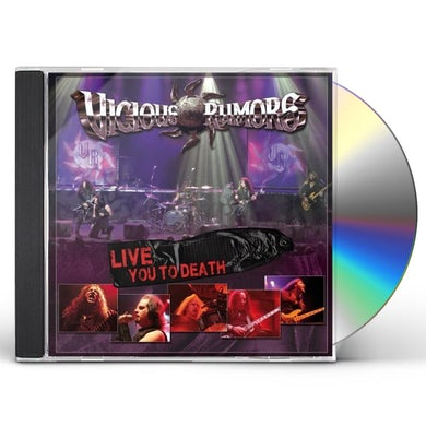 Vicious Rumors LIVE YOU TO DEATH CD