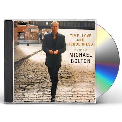 Michael Bolton TIME LOVE & TENDERNESS: BEST OF CD