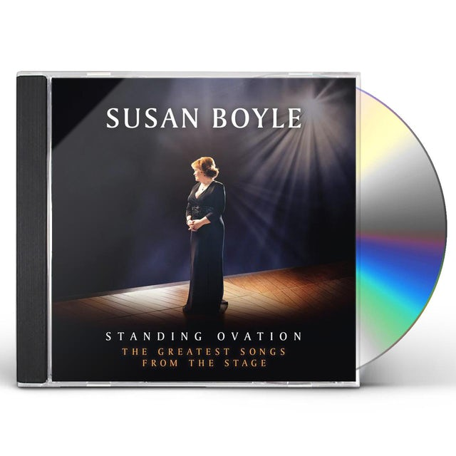 Susan Boyle STANDING OVATION: GREATEST SONGS FROM THE STAGE CD
