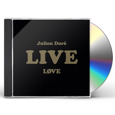 Julien Dore LOVE LIVE CD