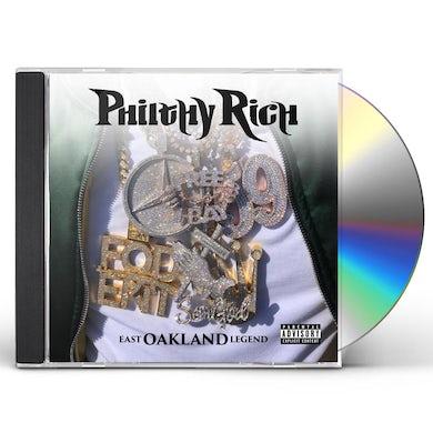 Philthy Rich East Oakland Legend CD