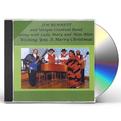 Jim Bennett WISHING YOU A MERRY CHRISTMAS CD
