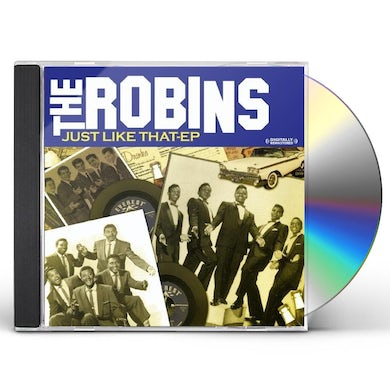 RobinS JUST LIKE THAT EP CD