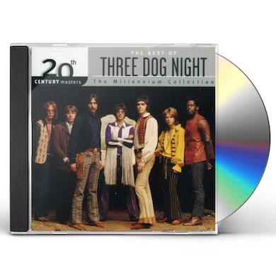 Three Dog Night 20TH CENTURY MASTERS: MILLENNIUM COLLECTION CD