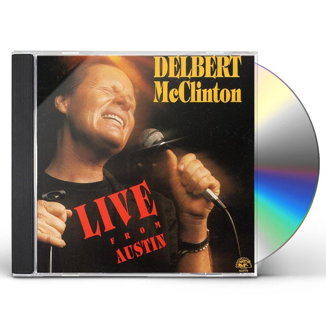Delbert Mcclinton LIVE FROM AUSTIN CD