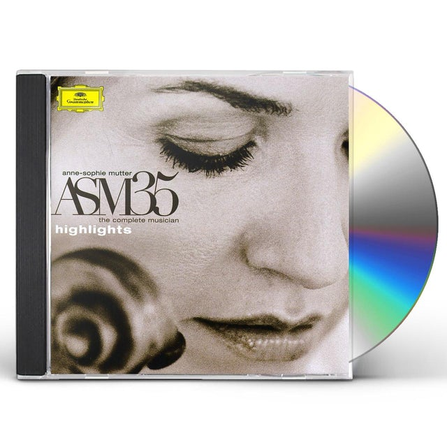 Anne-Sophie Mutter ASM 35: THE COMPLETE MUSICIAN - HIGHLIGHTS CD