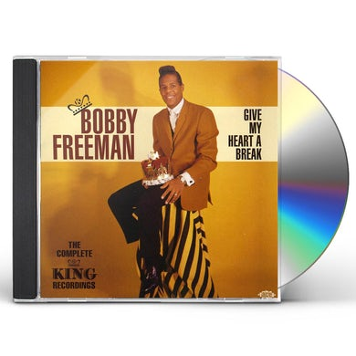 Bobby Freeman GIVE MY HEART A BREAK: THE COMPLETE KING RECORDING CD