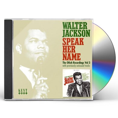 Walter Jackson SPEAK HER NAME-THE OKEH RECORDINGS 3 CD