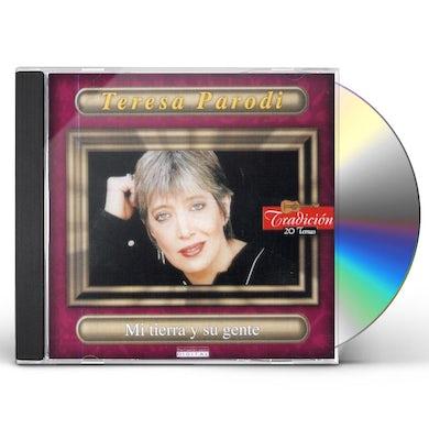 Teresa Parodi MI TIERRA Y SU GENTE CD